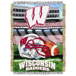 Northwest Wisconsin Badgers Homefield Tapestry Throw