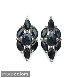 Malaika Sterling Silver Gemstone Earrings