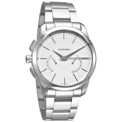 Azzaro Men's 'Legend Chrono' Stainless Steel Retrograde Watch