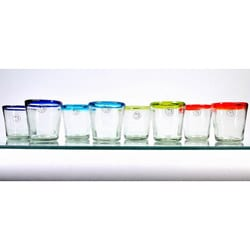 Mouth-blown 13-oz Baja Glasses (Set of 8)
