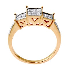 Isabella Collection 10k Yellow Gold 1/4ct TDW Diamond Ring (H-I, I2-I3)