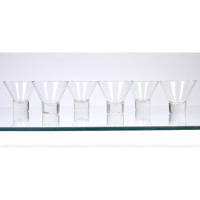 Borgonovo V225 Martini Glasses (Pack of 6)