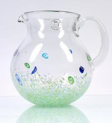 Monet Green Pitcher