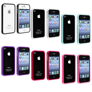 Premium Apple iPhone 4 TPU Bumper Case