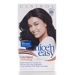 Blue Black Hair Color Dye