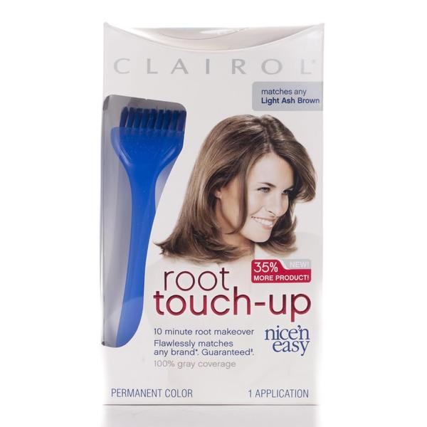 Clairol Root Touch-up #6A Light Ash Brown Hair Color (Pack of 4)