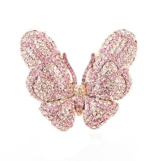 NEXTE Jewelry Papillion Rhinestone Butterfly Ring