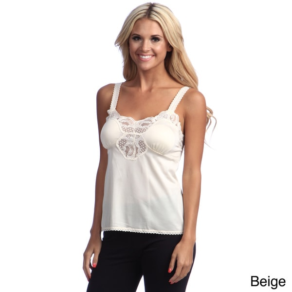 Illusion Women's Lace Camisole Top