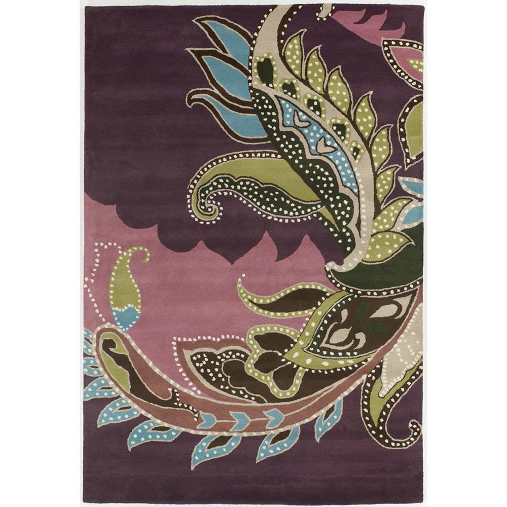 Hand-tufted INT New Zealand Wool Rug (5' x 7'6)