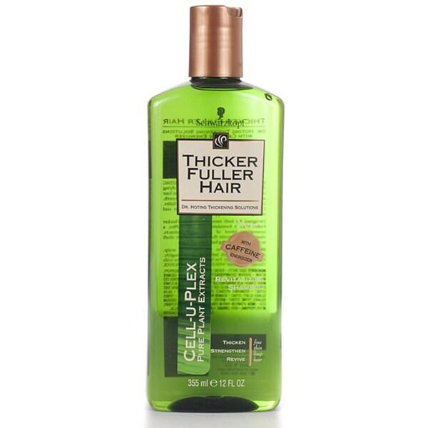 Thicker Fuller Hair Revitalizing 12-ounce Shampoo (Pack of 4)