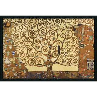Gustav Klimt 'The Tree of Life, 1905-1911' Framed Art Print