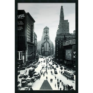 'Times Square' Framed Art Print