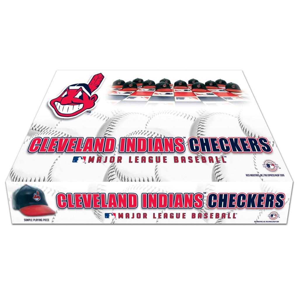 Rico Cleveland Indians Checker Set