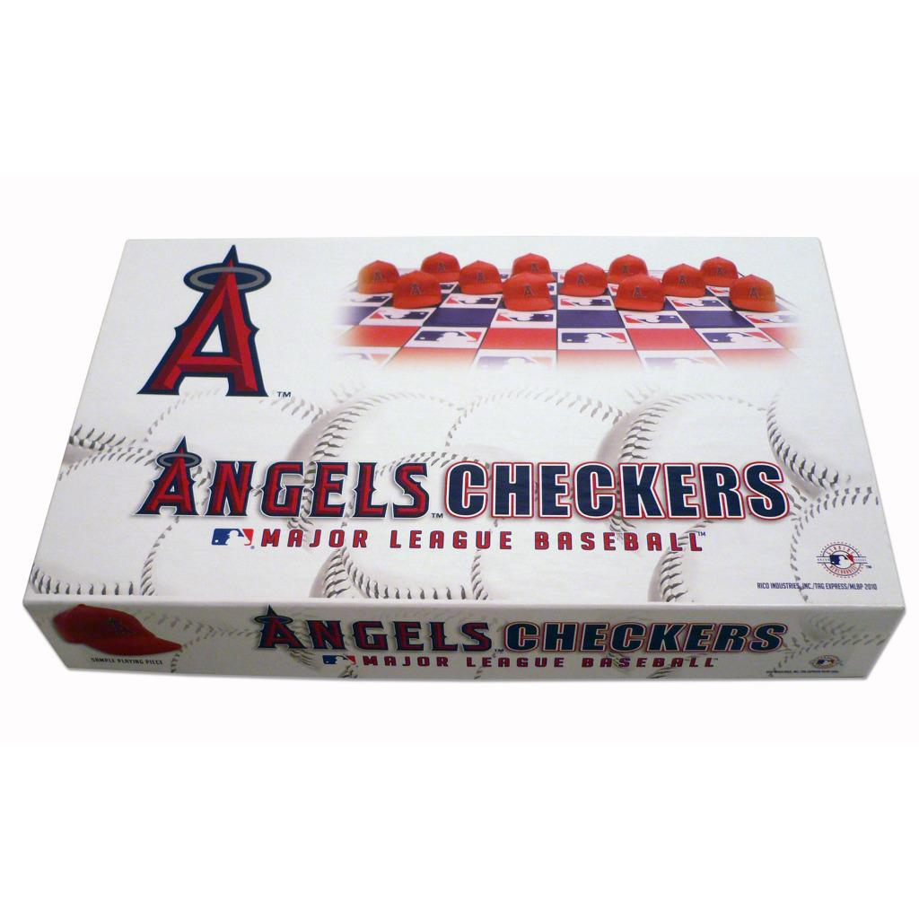 Rico Los Angeles of Anaheim Angels Checker Set