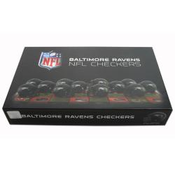 Rico Baltimore Ravens Checker Set