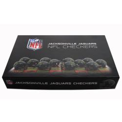 Rico Jacksonville Jaguars Checker Set