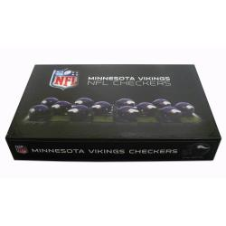 Rico Minnesota Vikings Checker Set