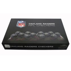 Rico Oakland Raiders Checker Set