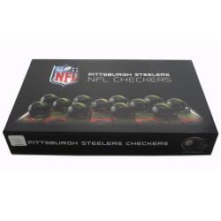 Rico Pittsburgh Steelers Checker Set