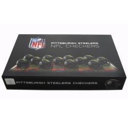 Rico Pittsburgh Steelers Checker Set