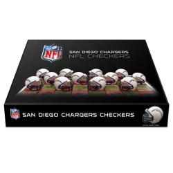 Rico San Diego Chargers Checker Set