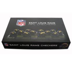 Rico St. Louis Rams Checker Set