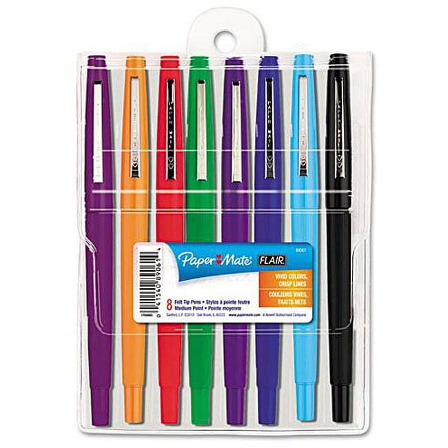 Papermate Flair Point Guard Assorted Porous Point Stick