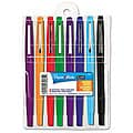 Papermate Flair Point Guard Assorted Porous Point Stick Pens (Set of 8)