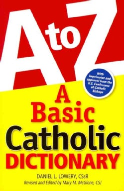 A Basic Catholic Dictionary (Paperback)