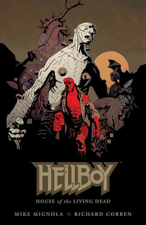Hellboy: House of the Living Dead (Hardcover)