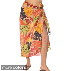 Cotton Floral Print Sarong (India)