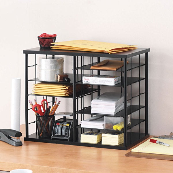 Rubbermaid 12-slot Black Organizer 7950822