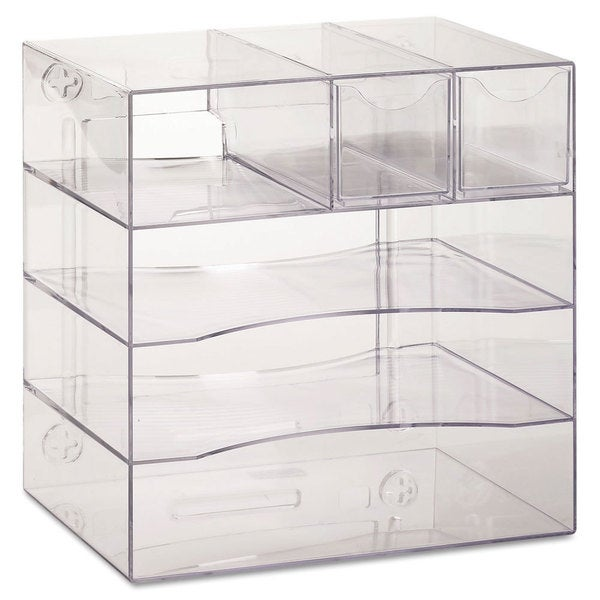 Rubbermaid optimizers four way organizer with drawers - Rubbermaid desk organizer ...