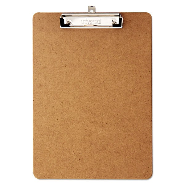 Universal Brown Hardboard Clipboard (Pack of 2)