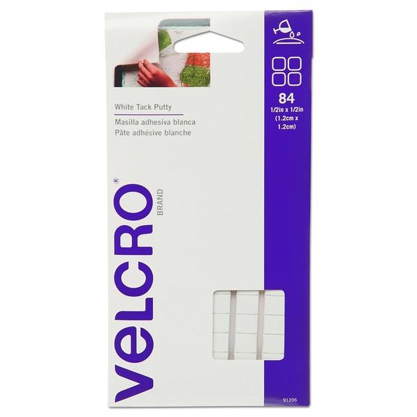 Velcro Sticky Fix Tak- Removable- 84 Squares/Pack