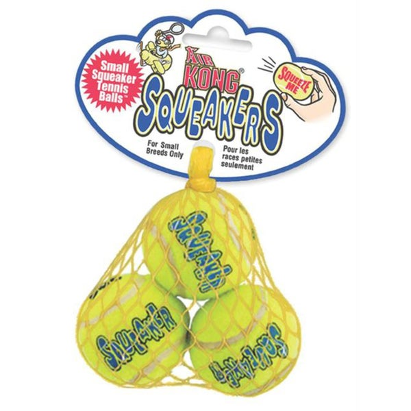 Kong Company AST3 Small Squeaker Tennis Balls (3 pack)