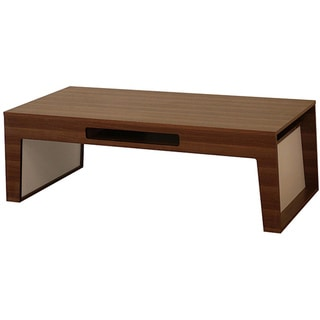 Atrix Wooden Walnut Coffee Table