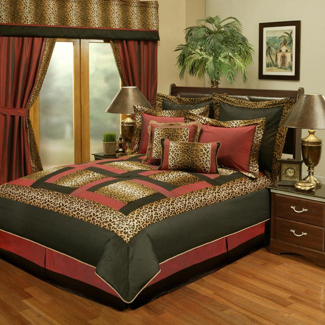 Sherry Kline Jungle Passage Cheetah 8-piece Comforter Set