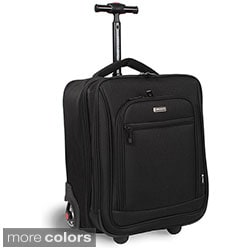 J World 'Deakon' Rolling 17-inch Laptop Carry On Business Tote