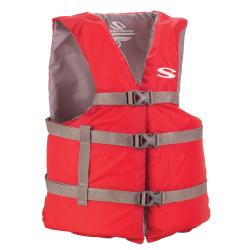 Coleman Adult Classic Series Oversize Red Life Vest