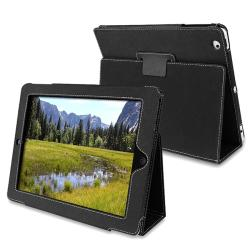 Embossed Leather Case with Stand for Apple iPad 2