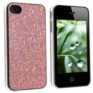 Snap-on Pink Bling Case for Apple iPhone 4