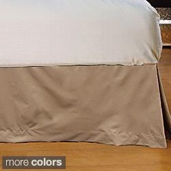 Wrinkle-resistant Microfiber 15-inch Drop Bedskirt