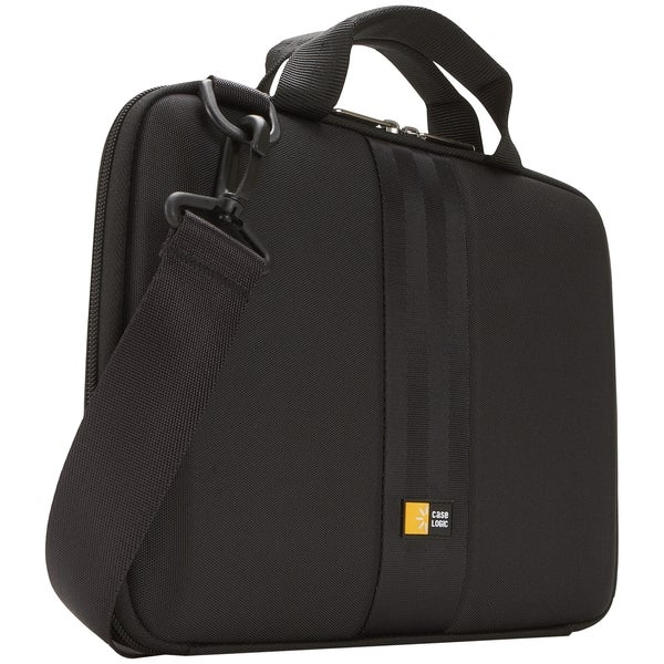 "Case Logic QTA-110 Carrying Case (Attach for 10"" Tablet PC - Black"
