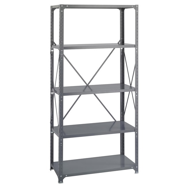 Safco 5-shelf 36-inch Wide x 18-inch Deep x 72-inch High Commercial Shelf Kit