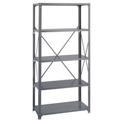 Safco Commercial Steel Shelving 5-shelf Shelf Kit
