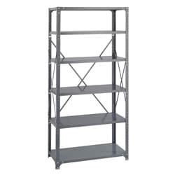 Safco Commercial Steel Shelving 6-shelf Shelf Kit