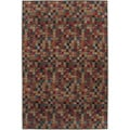 Nepalese Hand-knotted Putty Bottle Cap Wool Rug (2'6 x 10')