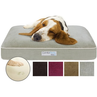 Simmons Comforpedic Deluxe Memory Foam Orthopedic Pet Bed