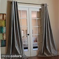 Mia Faux Silk 96-inch Curtain Panel
